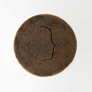 bodyscrub zeepbar handmade vanille/koffie